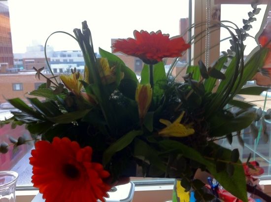 Pretty Flowers from Rita, Nikki and Family